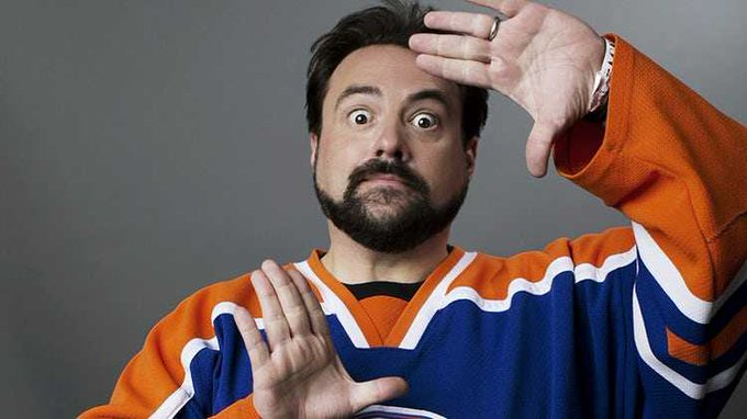 Happy 49th birthday to Silent Bob himself, Kevin Smith, director of TUSK, RED STATE, YOGA HOSERS, and more.