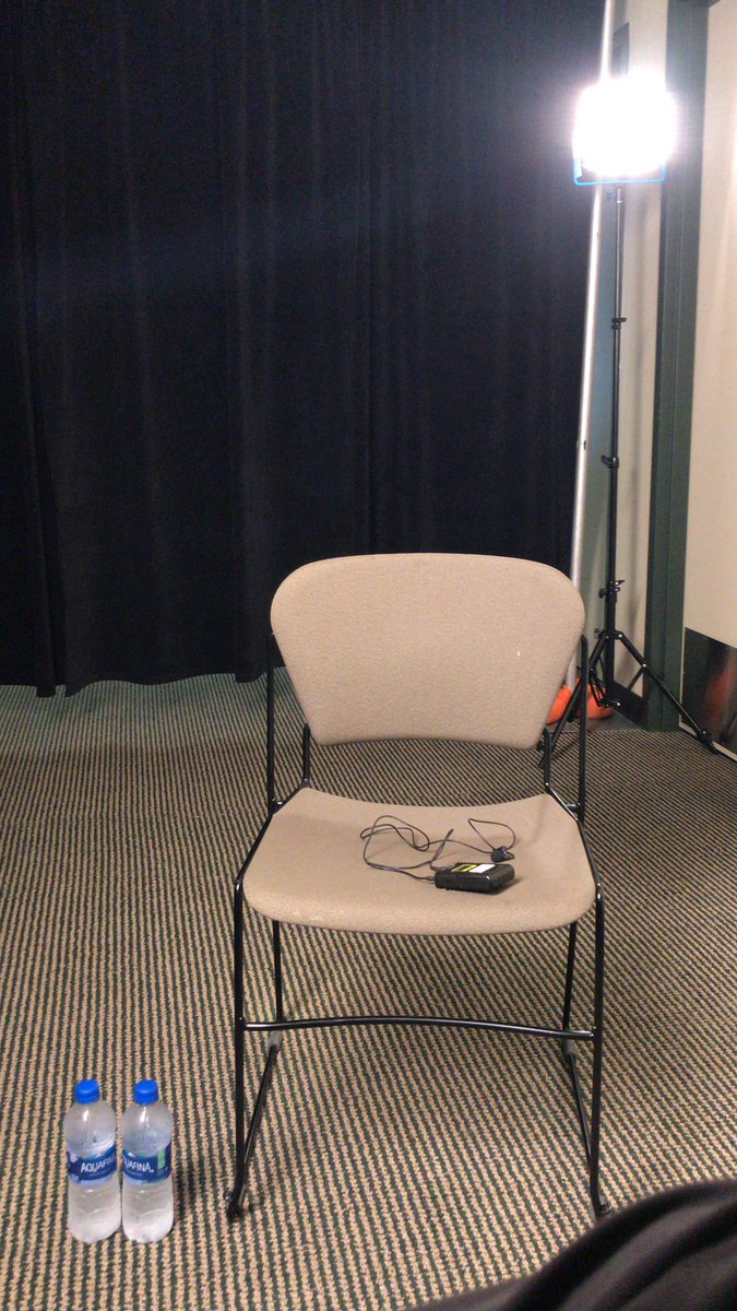 Getting set for @oregonfootball media day, exclusive interviews coming up shortly