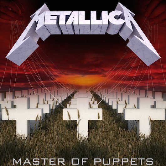 Battery from Master Of Puppets by Metallica  Happy Birthday, James Hetfield