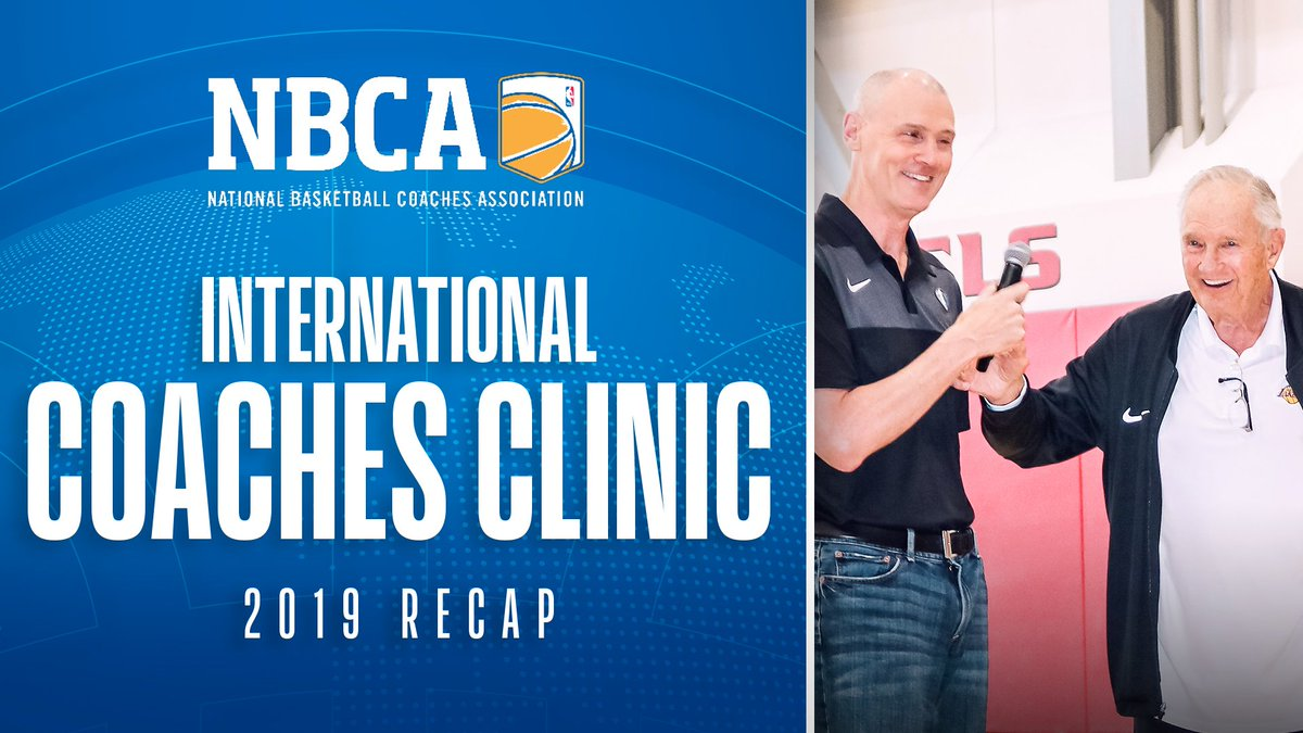 Some of the best minds in basketball came together to share ideas at this year's NBCA Int'l Coaches Clinic. Hosted in Las Vegas during the @nbasummerleague, the clinic was headlined by George Karl, Mike D'Antoni, Nick Nurse & Bill Bertka!  Full Recap: http://ow.ly/mtV250vlM1v