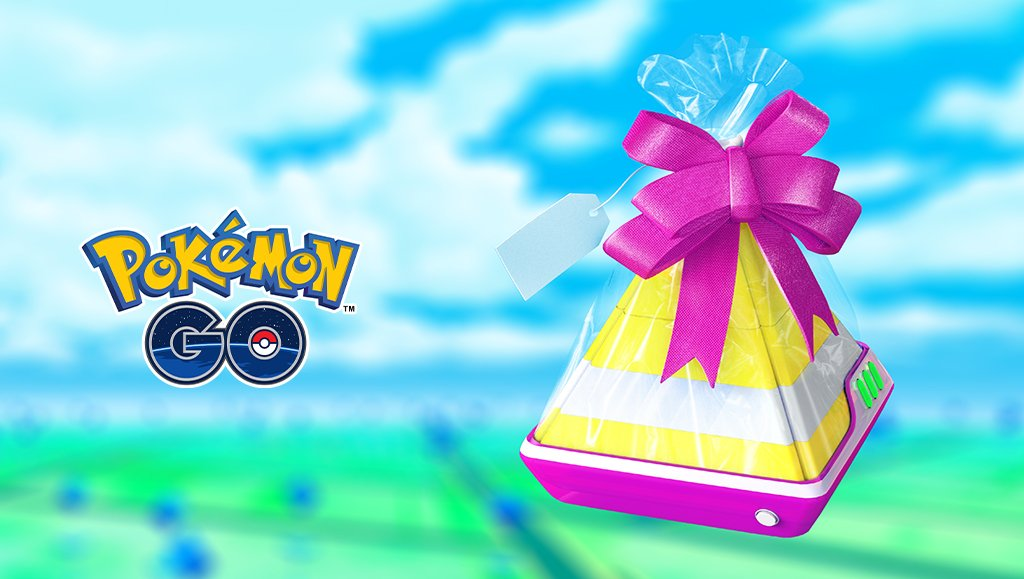 Serebii Update: The Pokémon GO Special Gift event is now