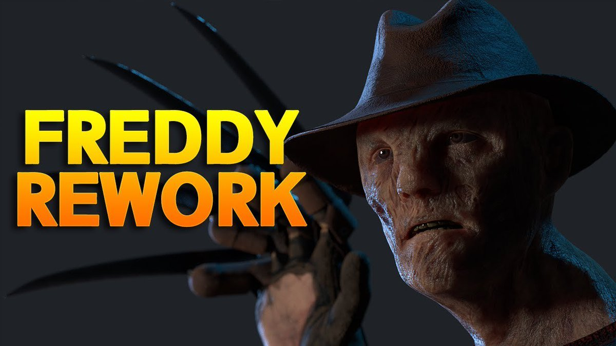 FREDDY REWORK IS HERE! - Dead by Daylight  Link:  #DBD #DeadByDaylight #freddy #freddyrework #funnymoments #gameplay #horror #HowToGetRankOne #Monto #NewCosmetic #NewKiller #newmap #NewSkin #NewSurvivor #No0b3 #PerkBuilds #rankonekiller