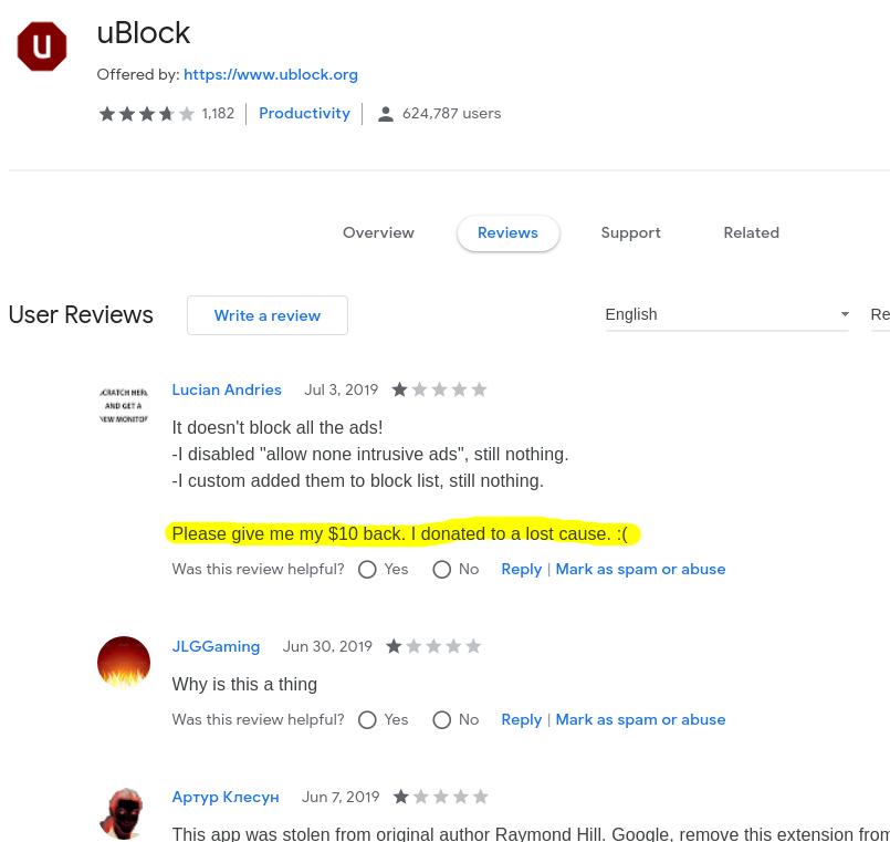 Enable Adblock Warning Removal List Ublock Origin