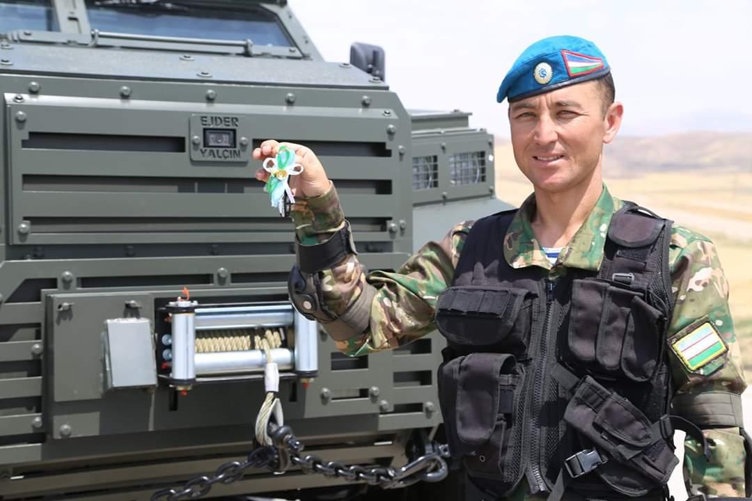 الجيش الأوزبكي يبدأ باستخدام المدرعة التركية Ejder Yalcin  EA_rhulW4AAIX81