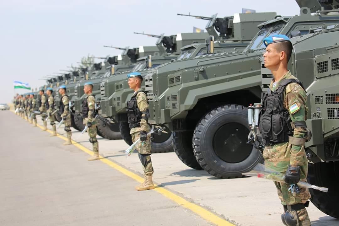 الجيش الأوزبكي يبدأ باستخدام المدرعة التركية Ejder Yalcin  EA_riavXsAUWByo