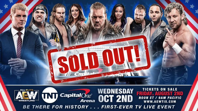 How Many Tickets Were Sold For AEW On TNT?, Update On Tickets To Be Released, Stars React