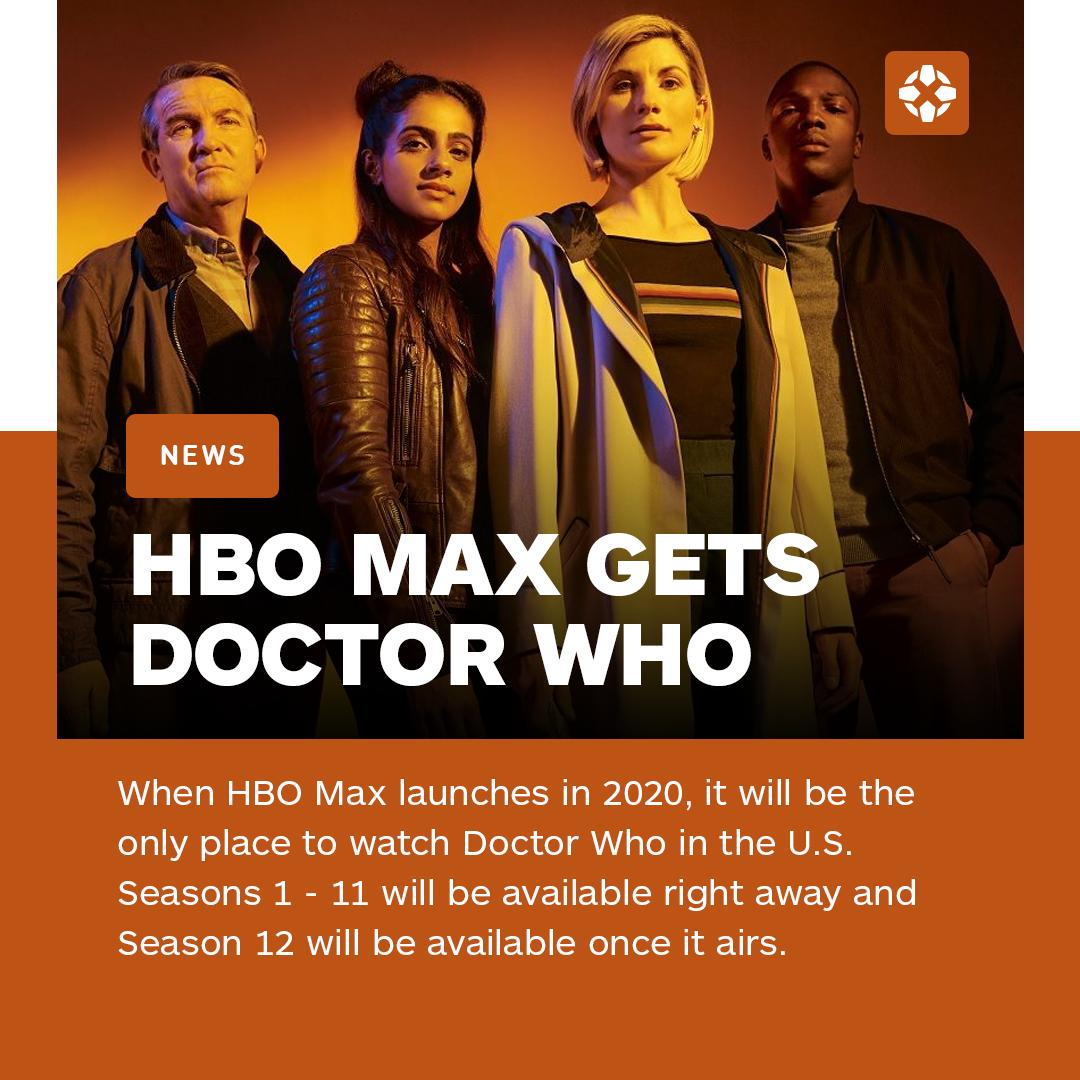 Watch Doctor Who Christmas Special 2019.Ign On Twitter Hbo Max Has Acquired The Exclusive U S