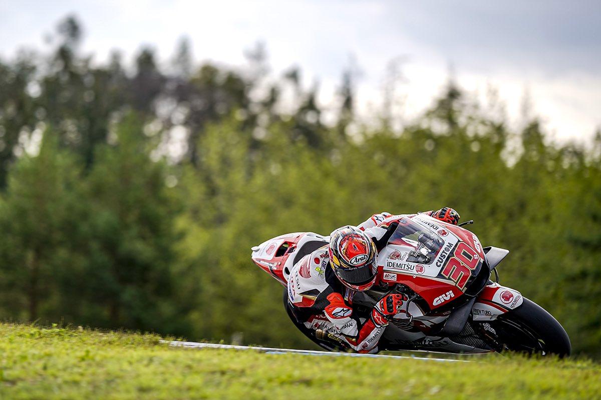 チェコGP初日は12番手! セッション終盤に転倒がありましたが、大丈夫です👍🏼 P12 first day of the #CzechGP 🇨🇿 Positive for tomorrow! #LCRHondaIDEMITSU #MotoGP