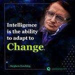 """Image for the Tweet beginning: """"Intelligence is the ability to"""