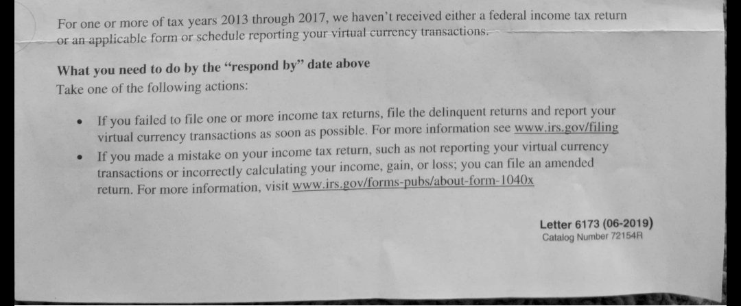 Irs Response Letter.Steven Chung On Twitter Some Observations About The Irs S