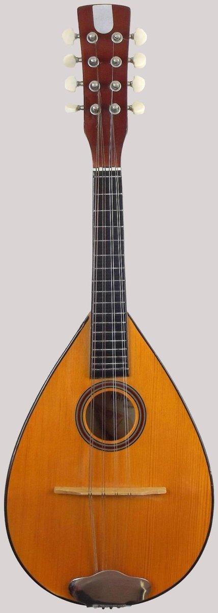 Cumbus napoliten wooden flat back Mandolin