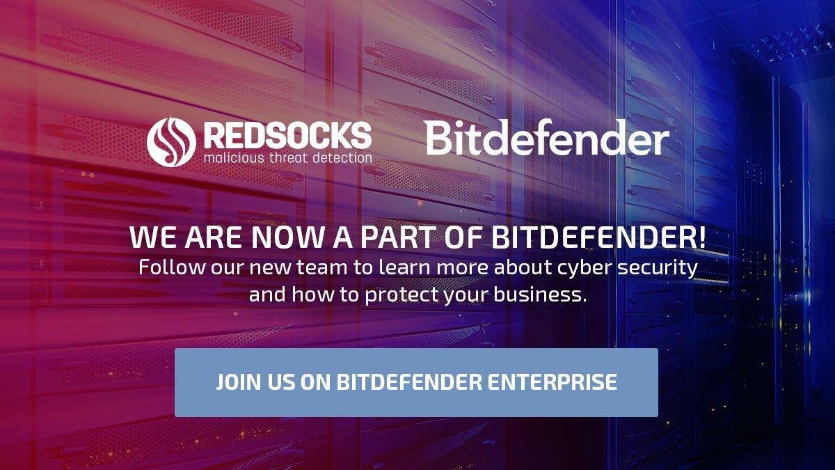 RedSocks Security (now part of Bitdefender) (@RedSocksMTD