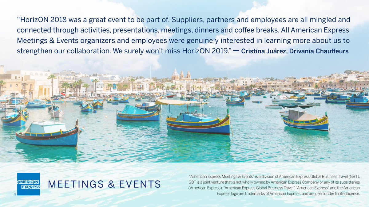 Meetings and #event suppliers: looking to engage with meeting professionals from around Europe who support top Fortune 500 companies? Join us HorizON. bit.ly/2GssDlZ