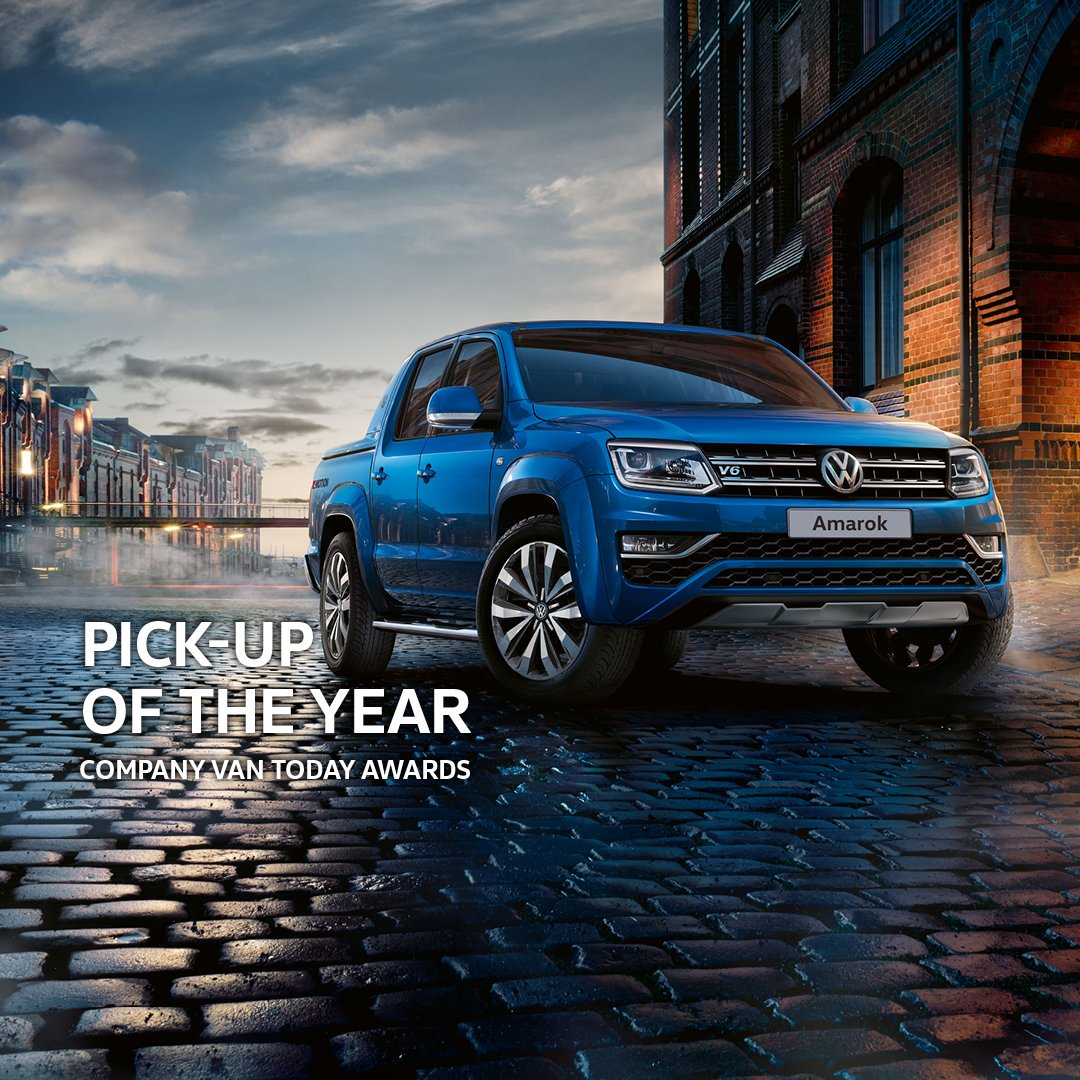 It's no stranger to picking things up – and now the Volkswagen Amarok has picked up an award from @companyvantoday for being the best in its category.