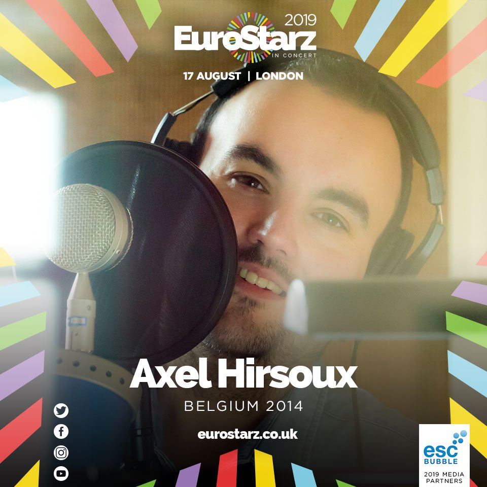 Our next artist for this years @StarzConcert showed us how important it is to love our Mothers - it's @Axelhirsoux !! Come and Relive the moment with us on 17th August at @the_water_rats ! 🇧🇪✨🎉   #eurovision #eurovisonconcert #belgium #eurovision2014 #londoneurovisionparty