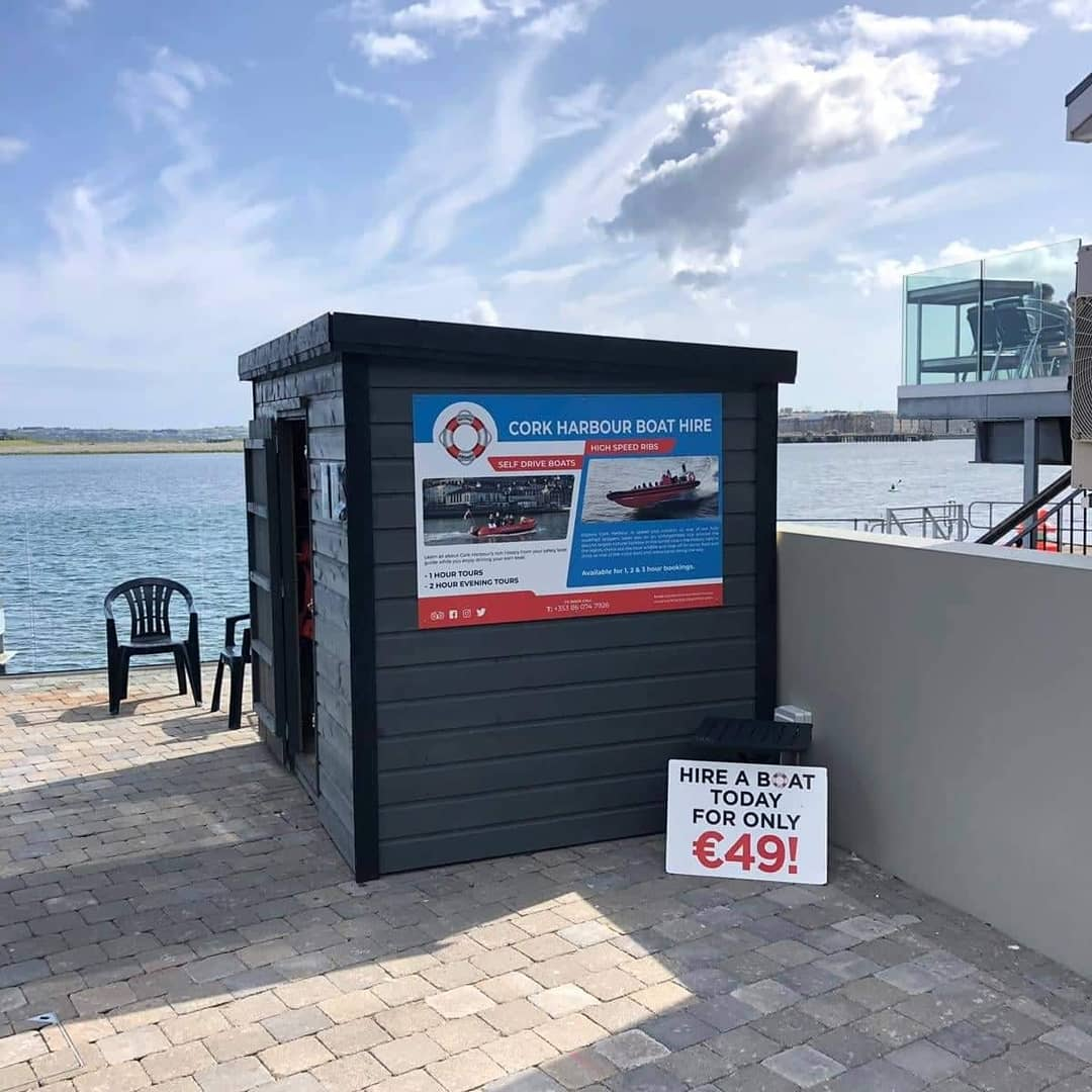 Guess whose back 👏👏👏We are delighted to tell you all that we are now up and running from the amazing The Quays Bar and Restaurant pontoon! You can book your boat trip online at https://t.co/yk6qyZhclO or by calling 086 0747926. https://t.co/Rm8mDkxdiI