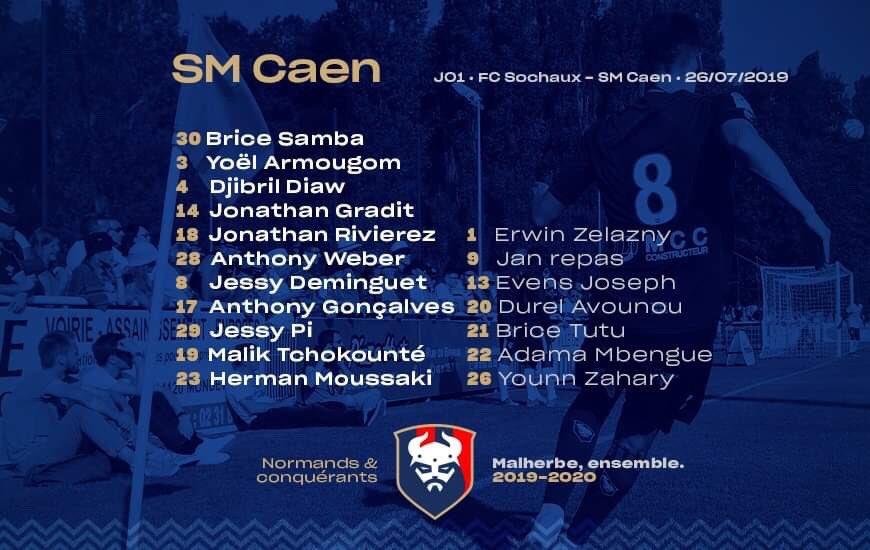 [1e journée de L2] FC Sochaux 0-0 SM Caen EAarY_IWwAAfqAO