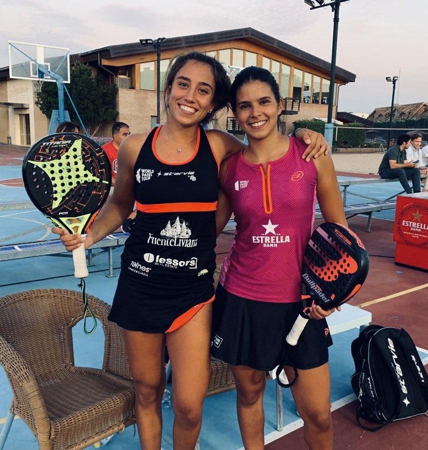 Bea González y Delfi Brea ganaron recientemente el Campeonato de España por Parejas Sub 23