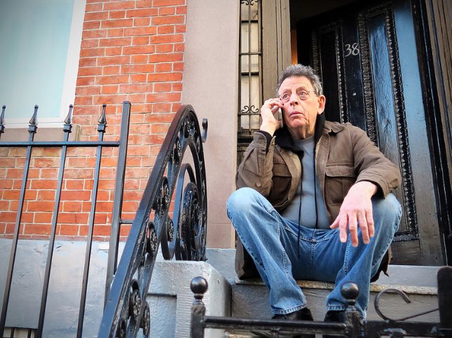 RT @NormalComposers Philip Glass calling someone.