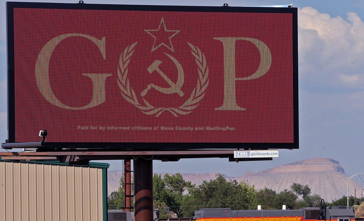 RT @EandPCartoons: #signofthetimes Grand Junction, Colorado https://t.co/eBkQxvSQFl
