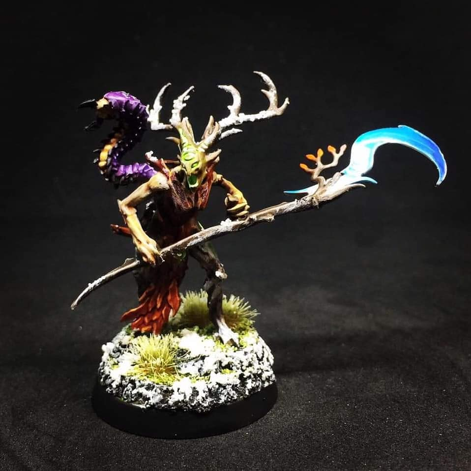 Painting Sylvaneth Weapons