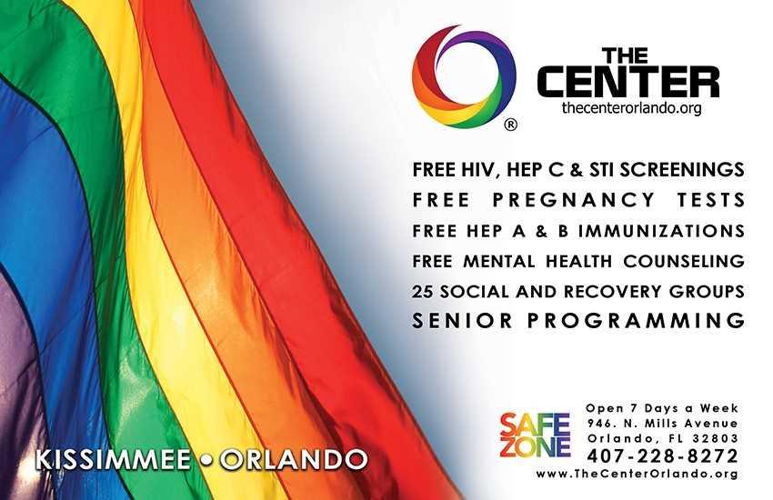 HIV Testing - 7 Days A Week - LGBT+ Center Orlando