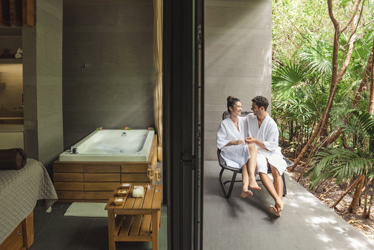 Take your weekend plans to the next level with an escape to our Cenote Spa for premium wellness services and body treatments. https://t.co/XOmmTBA0sV // #GrandHyattPlaya #CenoteSpa https://t.co/upQAtNl7AI