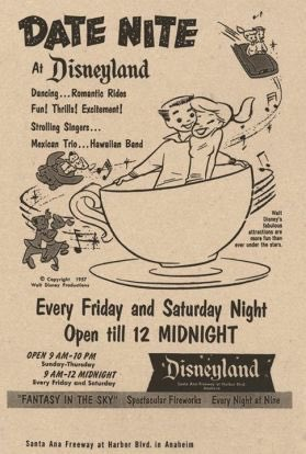 @nypost Disneyland has been marketing to young childless people since the 50's