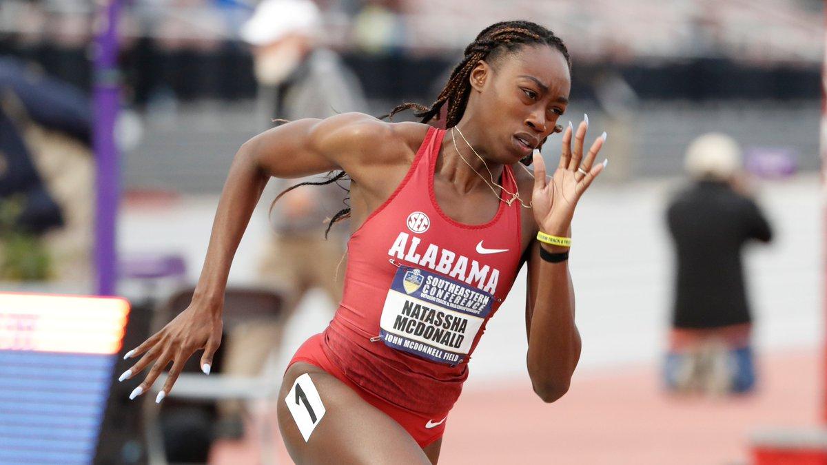 Alabama Track & Field auf Twitter