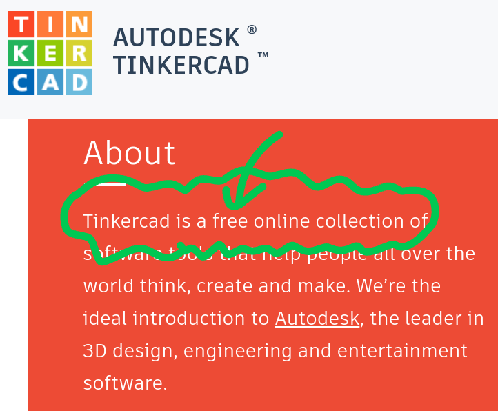 小学生長男の自由研究用に TinkerCAD のアカウントを取らせてみたら、親のアカウントが必要な上に「あなたが大人である証明のためクレジットカードで 0.5USD 支払え」と来た。そうすべきなのは、わかるんだけど、まあ、わかるんだけど。