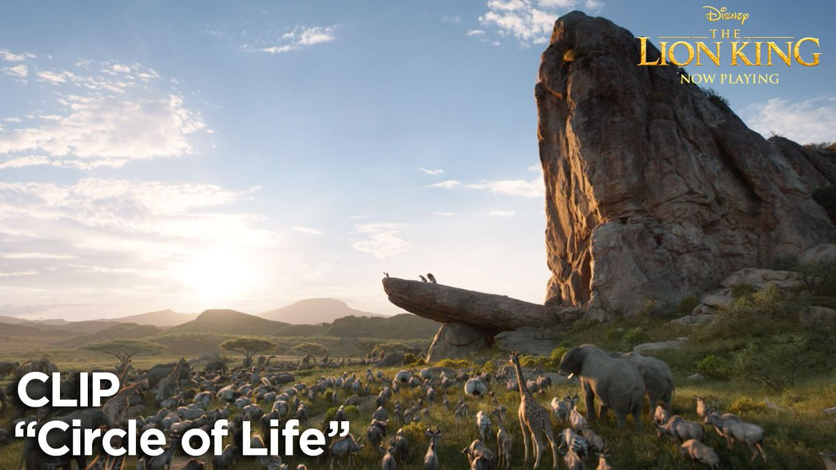 Take your place in the circle of life. #TheLionKing is now playing in theatres.