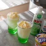 子どもと作りたい!超簡単にできるクリームソーダが激ウマ!