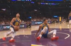 Stephen Curry Embarrasses Himself After Slipping On Dunk Fail Then Airballs! Warriors vs Lakers . . . https://t.co/Mm3HpAIh0A https://t.co/C6CBLyyBfz