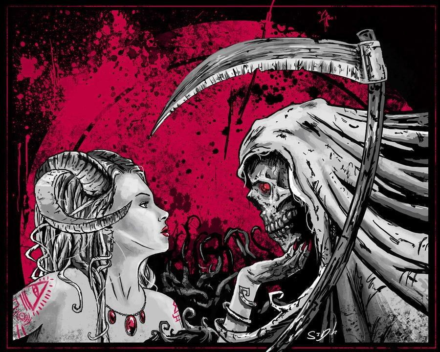 Картинки любовь и смерть, день