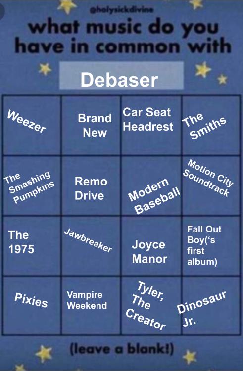 Debaser Debaser873 Twitter