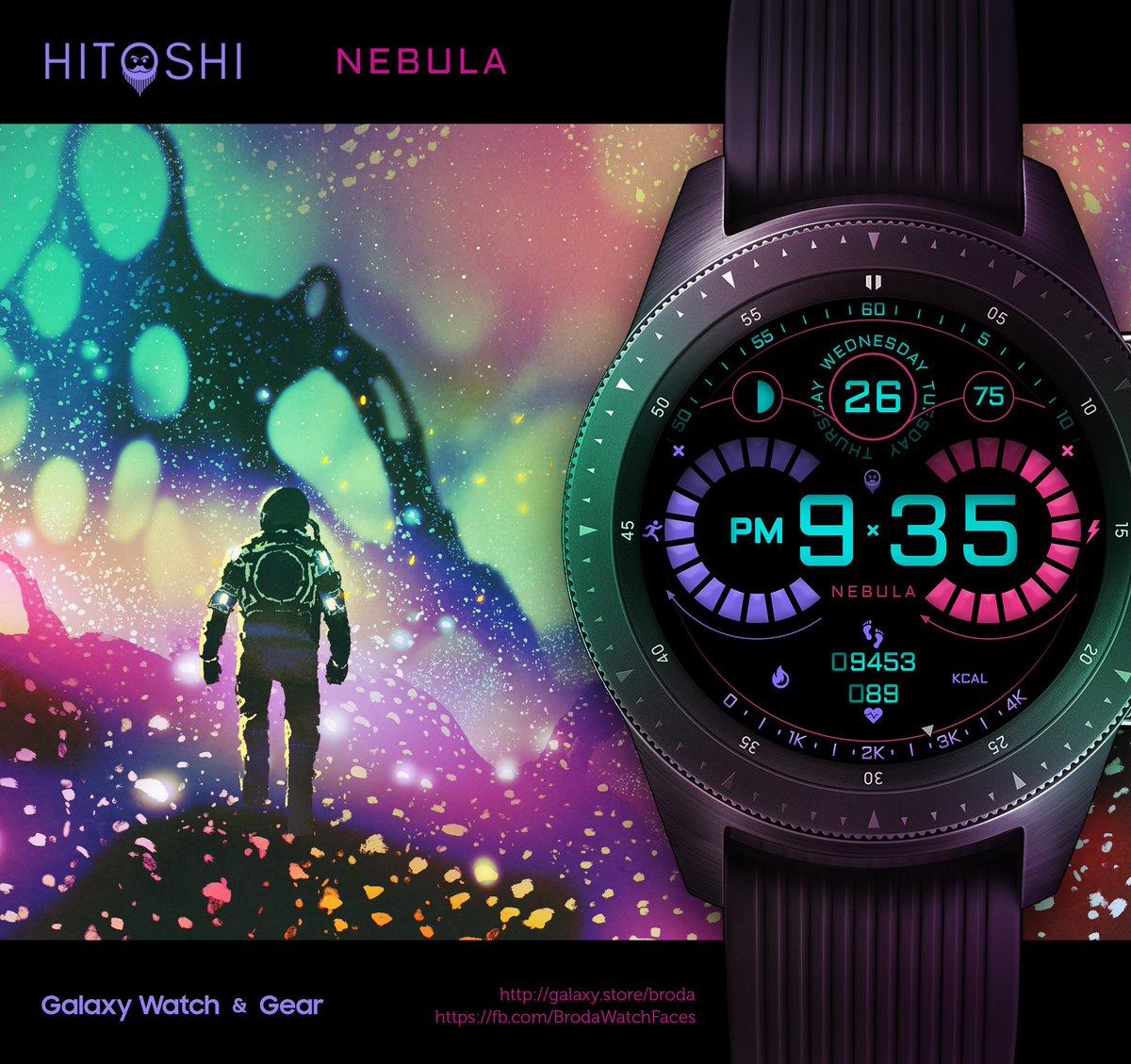 Hitoshi Nebula is now available ⌚🙂 https://galaxy store/hnebula
