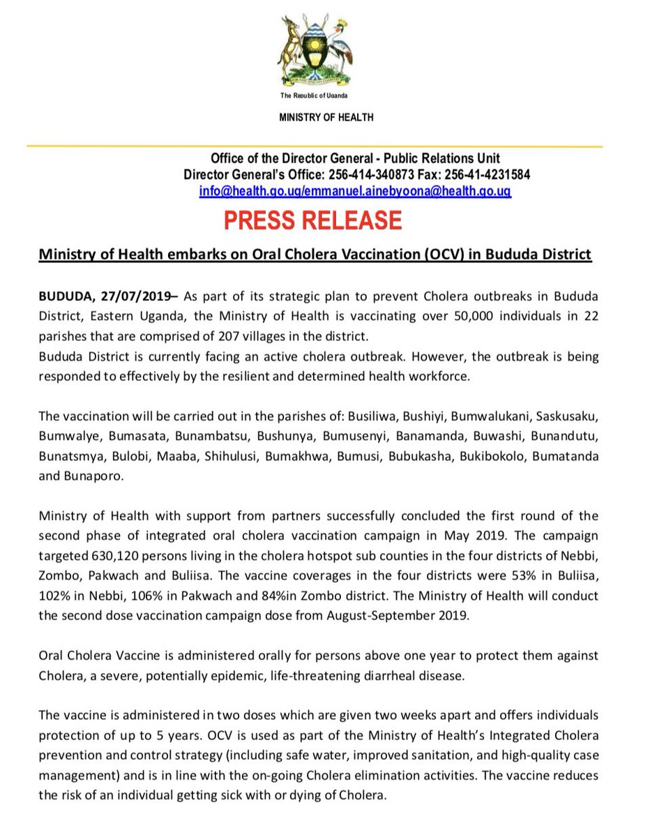 Media Tweets by Ministry of Health- Uganda (@MinofHealthUG) | Twitter