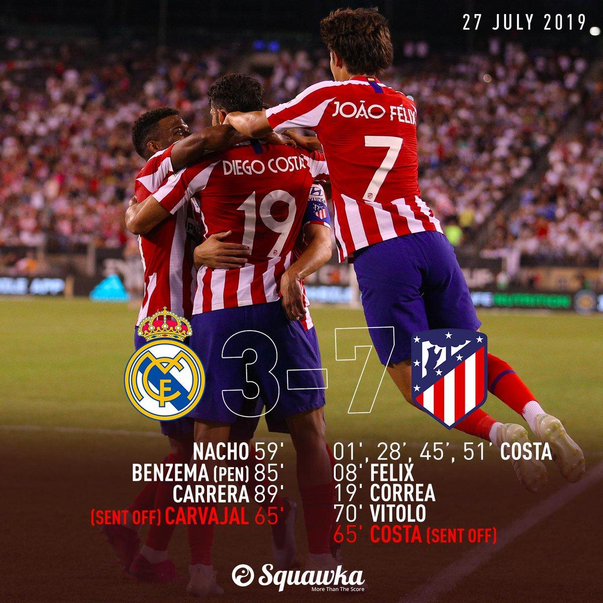 Squawka News On Twitter Real Madrid 3 7 Atletico Madrid Ft Costa Felix Correa Costa Costa Pen Costa Vitolo Nacho Benzema Pen Carrera