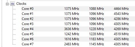 Question - Problems with reaching 4 5GHz on Ryzen 7 2700x