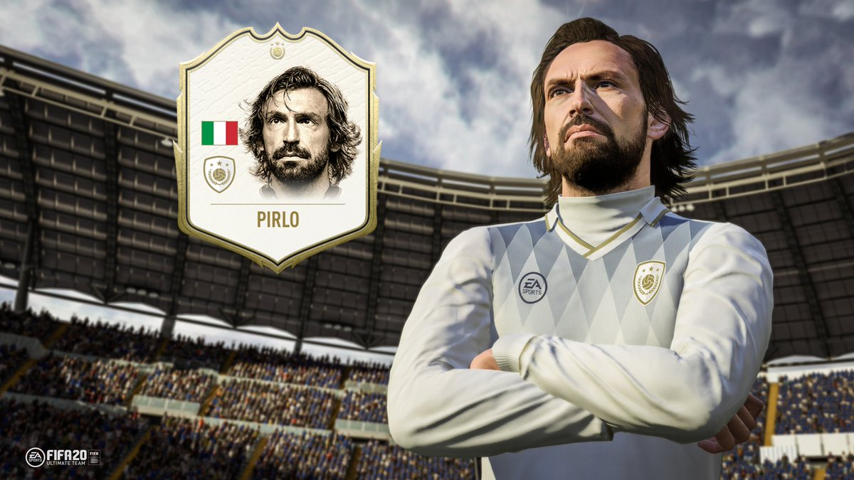 Com Pirlo e Hazard, Ultimate Team do FIFA 20 ganha primeiras cartas 1