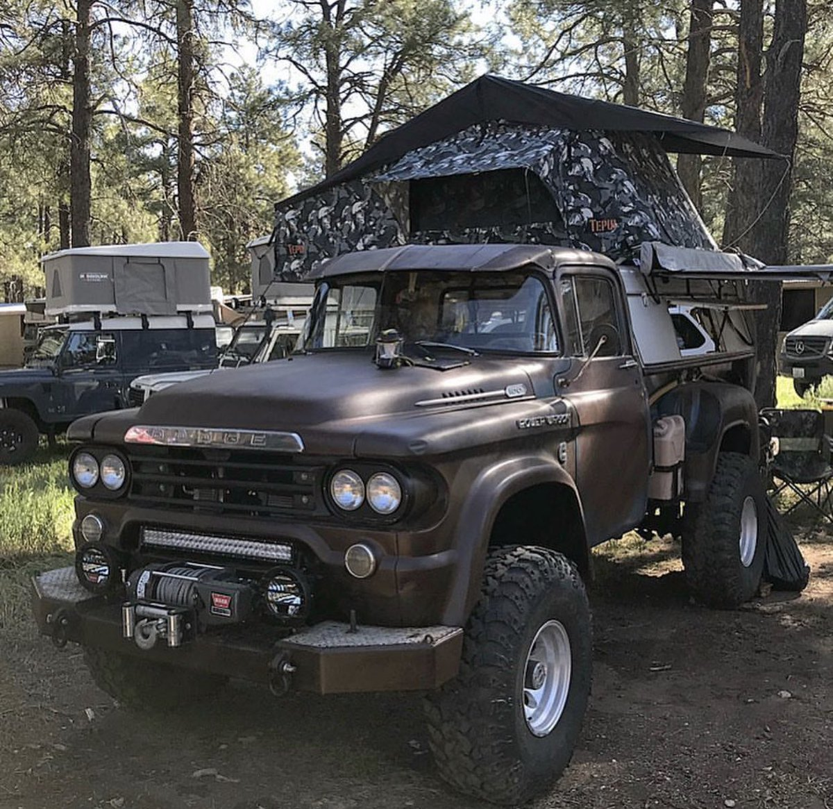 Mopar Unlimited On Twitter You Can Go Anywhere You Desire When You Overland In A Vintage Dodge Ram Power Wagon Moparornocar Moparchat