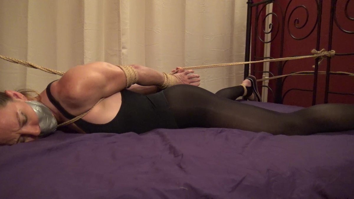 Bondage escape fail and bdsm agent wanting to be broken