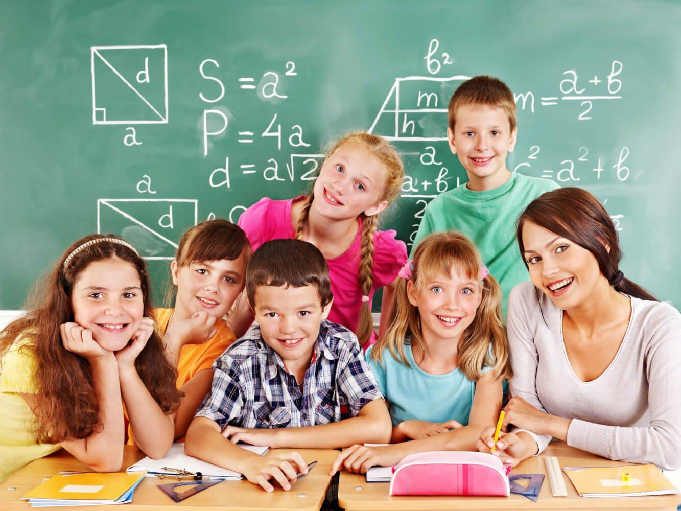 Учителя и дети картинки