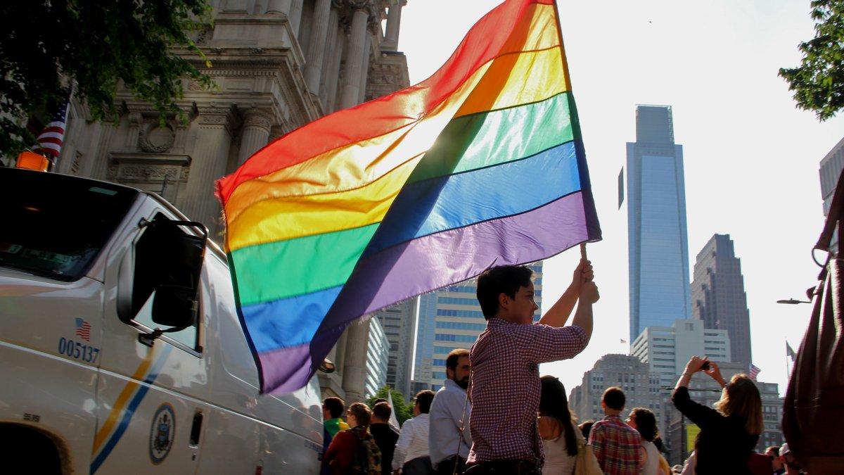 Gay population rising