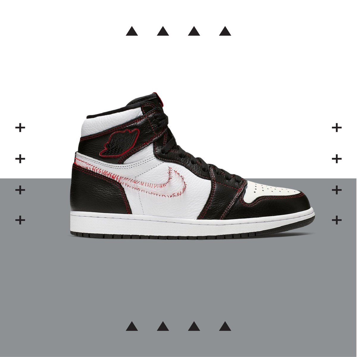 b5c26567 Shop or sell the Air Jordan 1 Retro High OG 'Defiant': https://stockx.com/air-jordan-1-retro-high-defiant-white-black-gym-red  …pic.twitter.com/C4nqzyFXKQ
