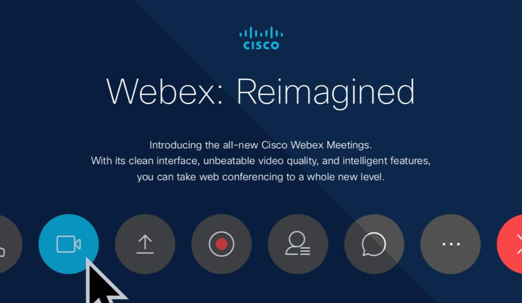 webex hashtag on Twitter