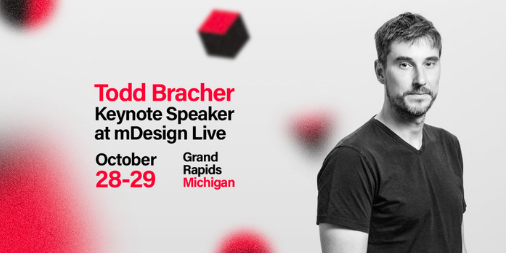 @humanscale, @HermanMiller, @Jaguar, @Burberry: just a few of the brands @toddbracher and his studio count as clients. Todd believes design must be informed, essential, expert, and artful. Want to hear what else he believes? Register for #mDesignLive: buff.ly/2K1IubO