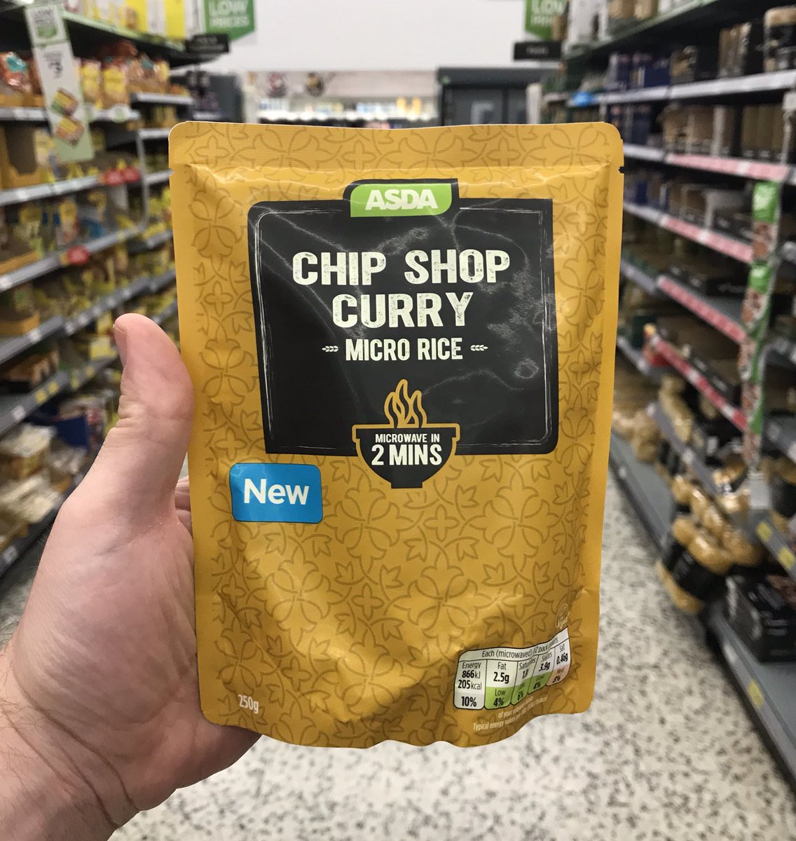 Well This Is New On Twitter Chip Shop Curry Micro Rice