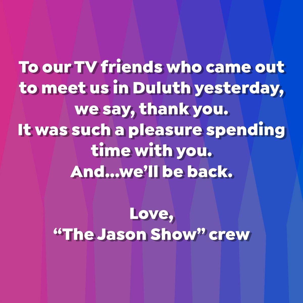The Jason Show (@JasonShowTV) | Twitter