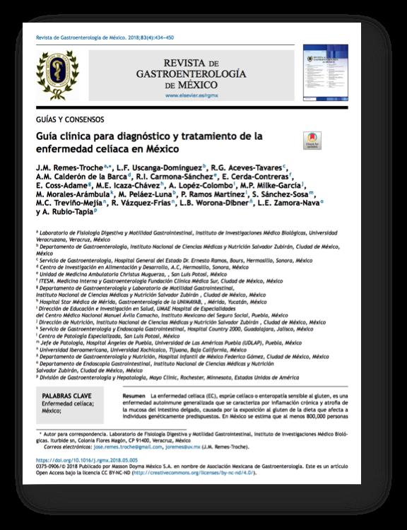 dieta para enfermedad celiaca pdf